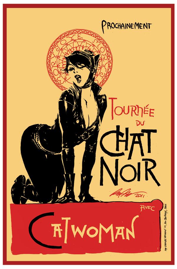 Catwoman - Chat Noir by rafaelalbuquerqueart