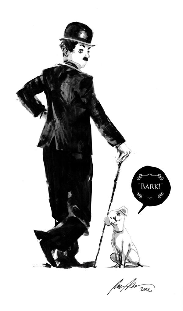 Chaplin by rafaelalbuquerqueart