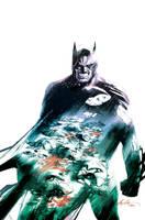 Batman 10 Variant Cover by rafaelalbuquerqueart