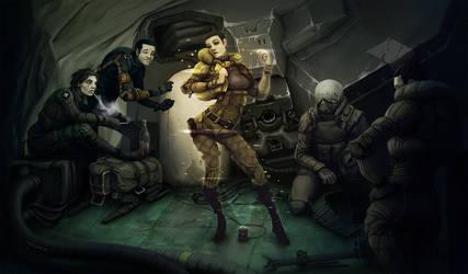 mercenaries by Fl3xo