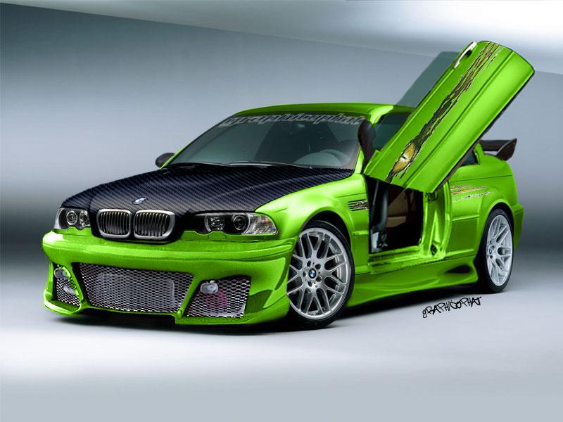 Väljanägemine. BMW_M3_Street_Car_Custom_by_graphicophat