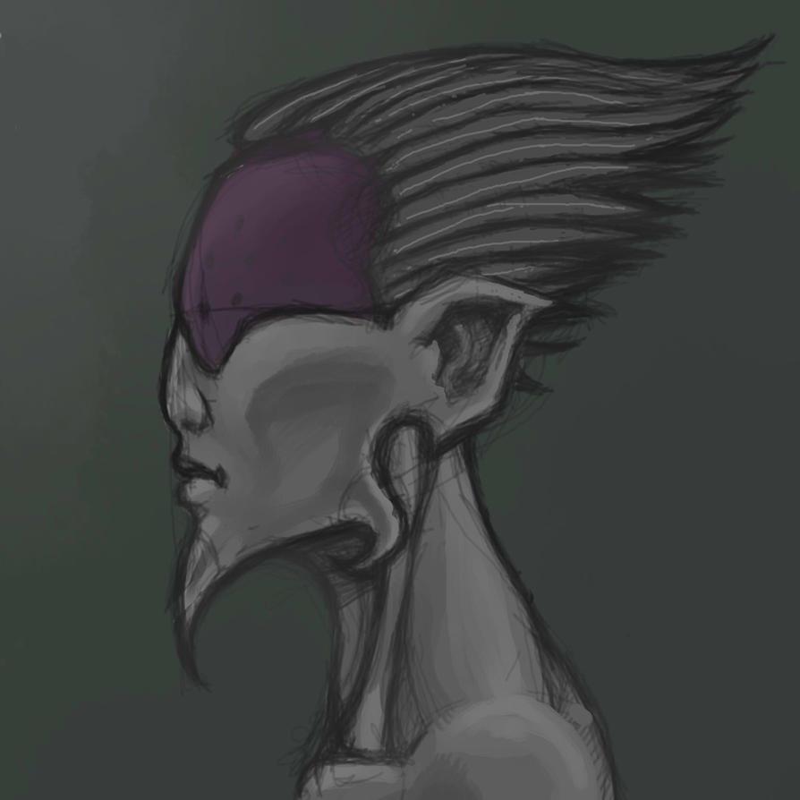 Nansiri sketch by Gearann