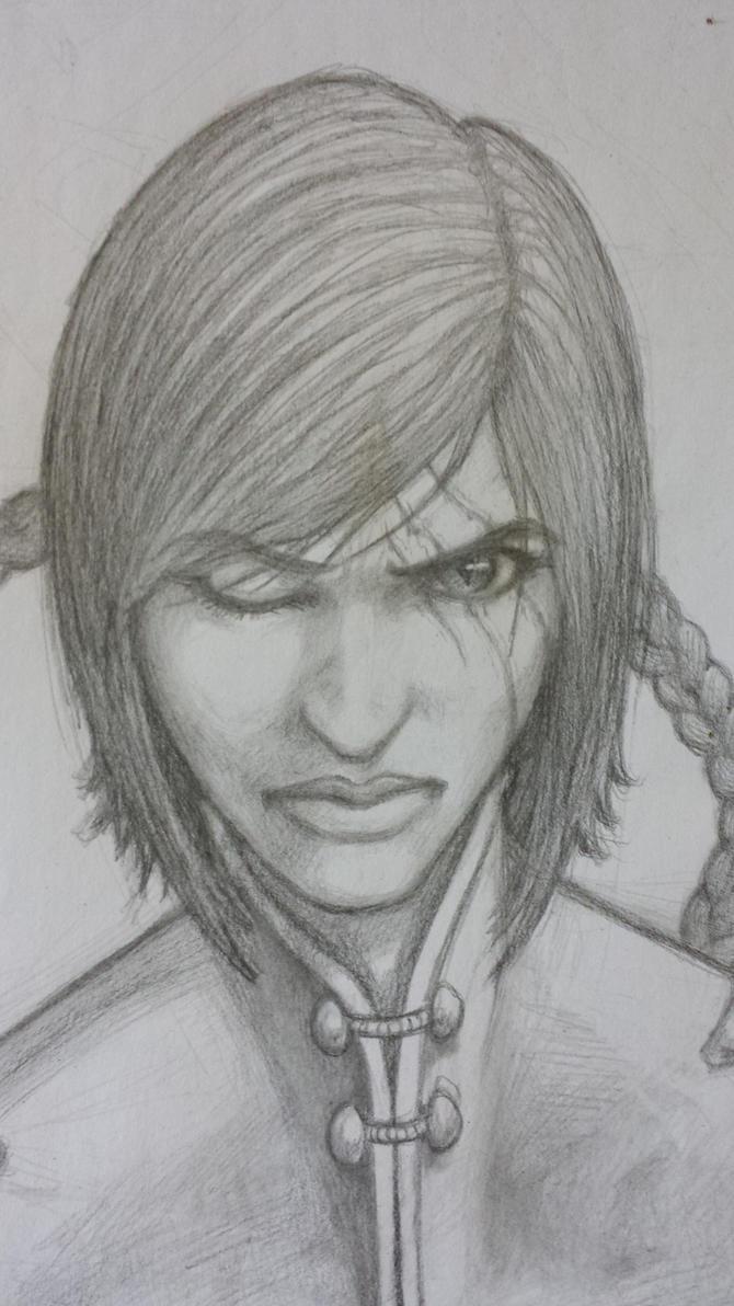 Stern face by Gearann
