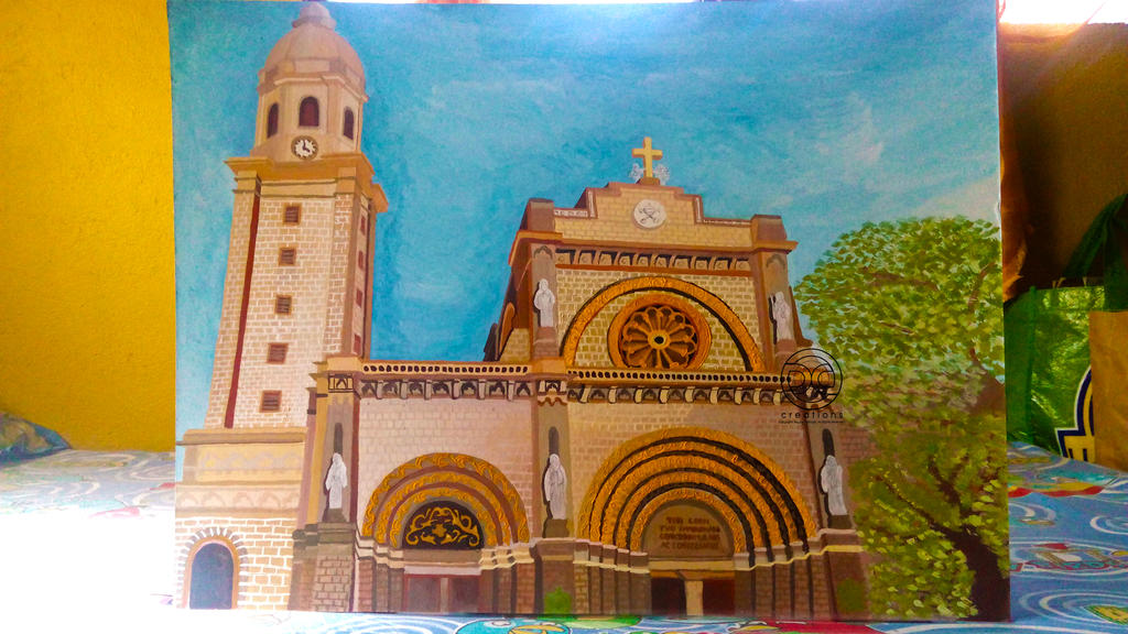 Painting: Manila Cathedral - Basilica (FINAL)
