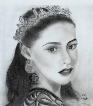 Graphite Portrait: Amihan (Final, 2016) by DicoCalingal