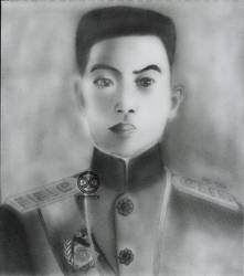 Graphite Portrait: Emilio Aguinaldo (FINAL) by DicoCalingal