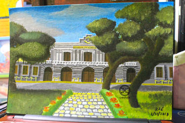 Painting: Ayuntamiento De Manila (Final) by DicoCalingal