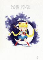 Sailor Moon Power by Elaume