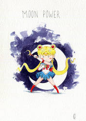 Sailor Moon Power by Elaume