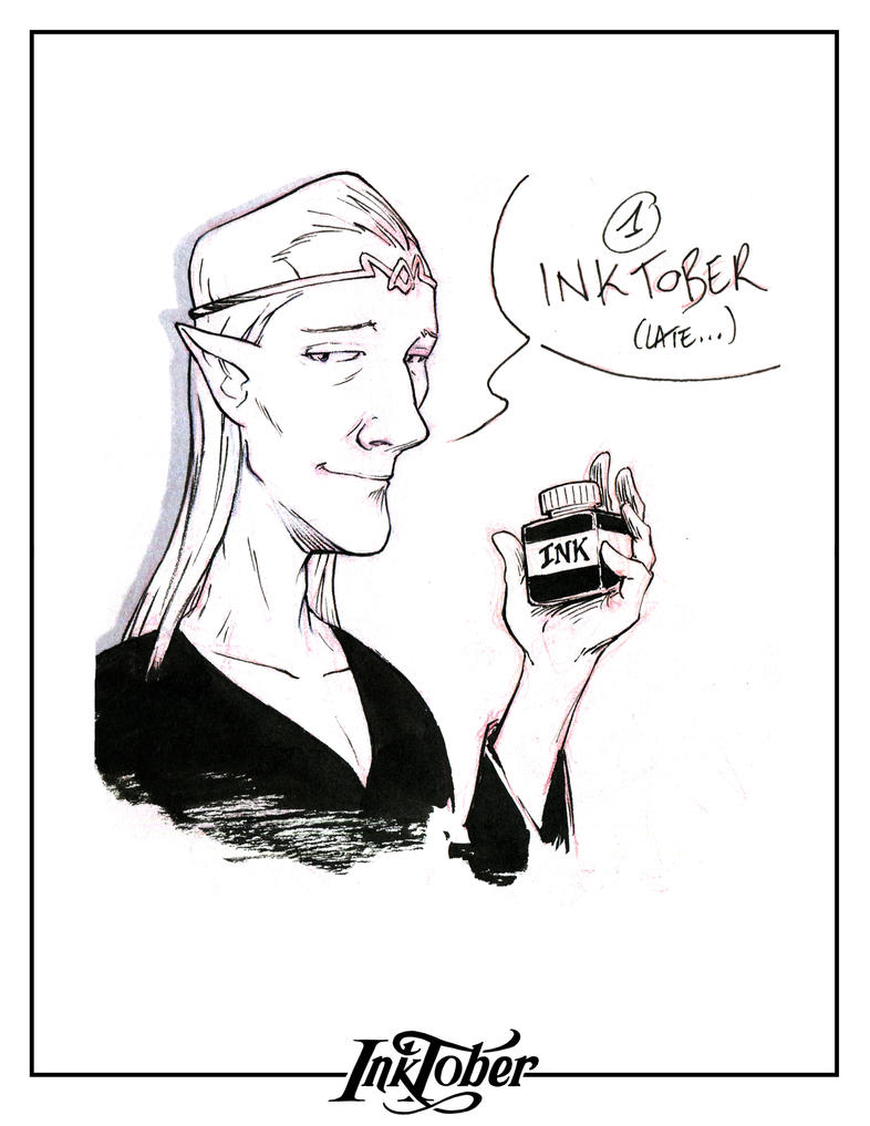 INKTOBER day 1 by Elaume