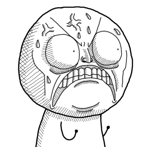 Funny Face Drawings Meme : Angry face by confettiman on deviantart