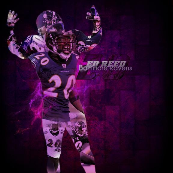 Baltimore Wallpaper: Ed Reed Ravens By TikoSimonyan On DeviantArt
