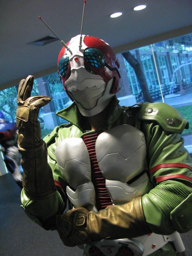 Kamen Rider V3 by kaizer-verde