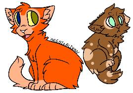 5 pt each cat adopts by nostoppingme