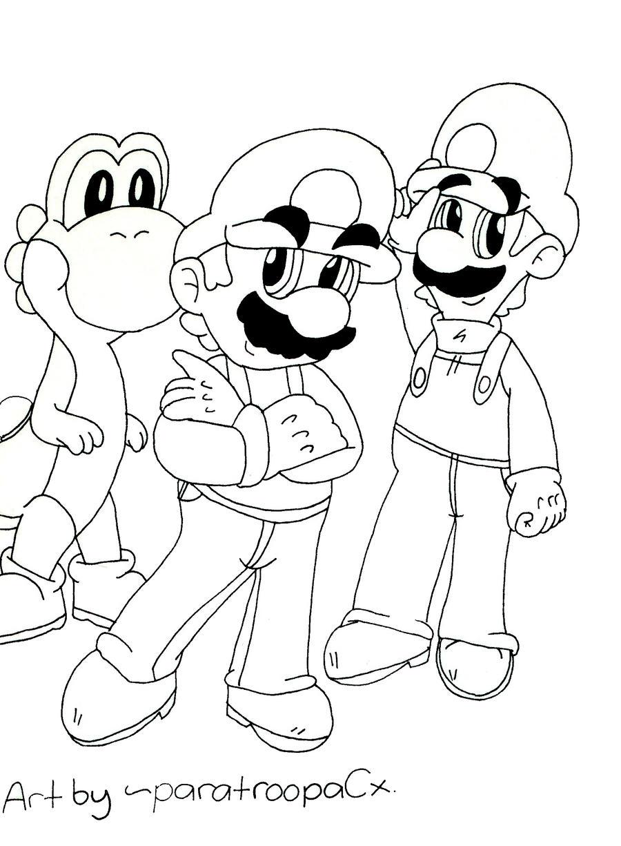 1000 Images About Super Mario Bros Disegni Da Colorare Gratis Www