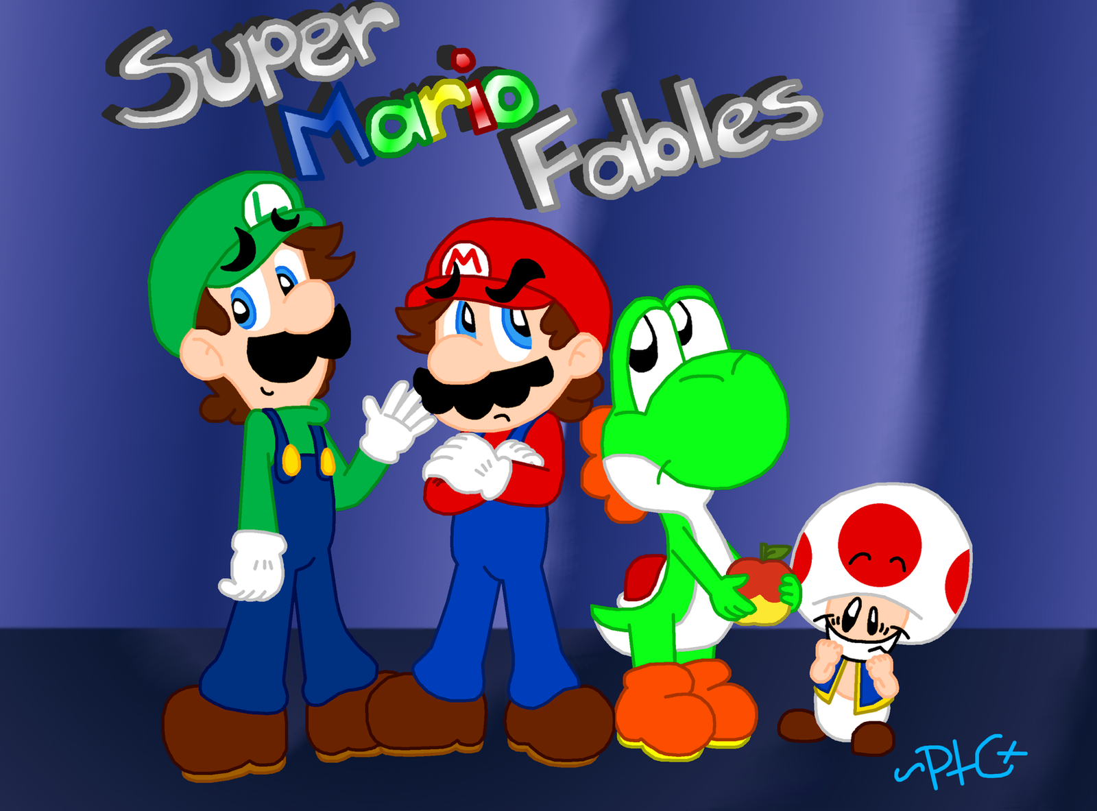 Super Mario Fables by paratroopaCx