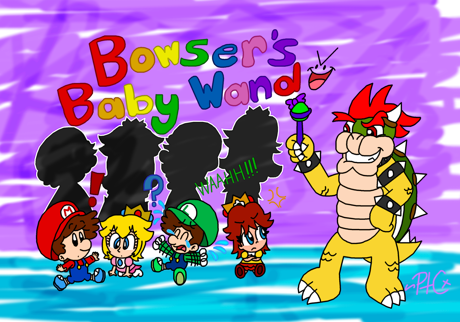 Bowser's Baby Wand by paratroopaCx