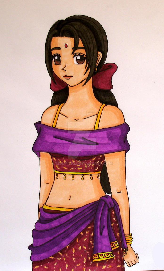 Indian Girl by Liyutiriu