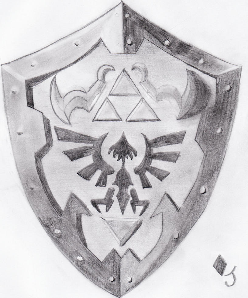 Stunning Hylian Shield Template Images - Example Resume Templates ...