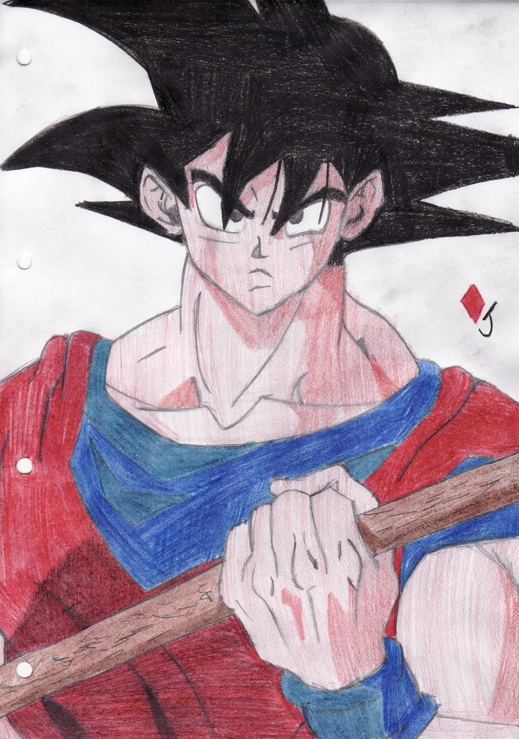 Goku by Jack-0f-Diam0ndz