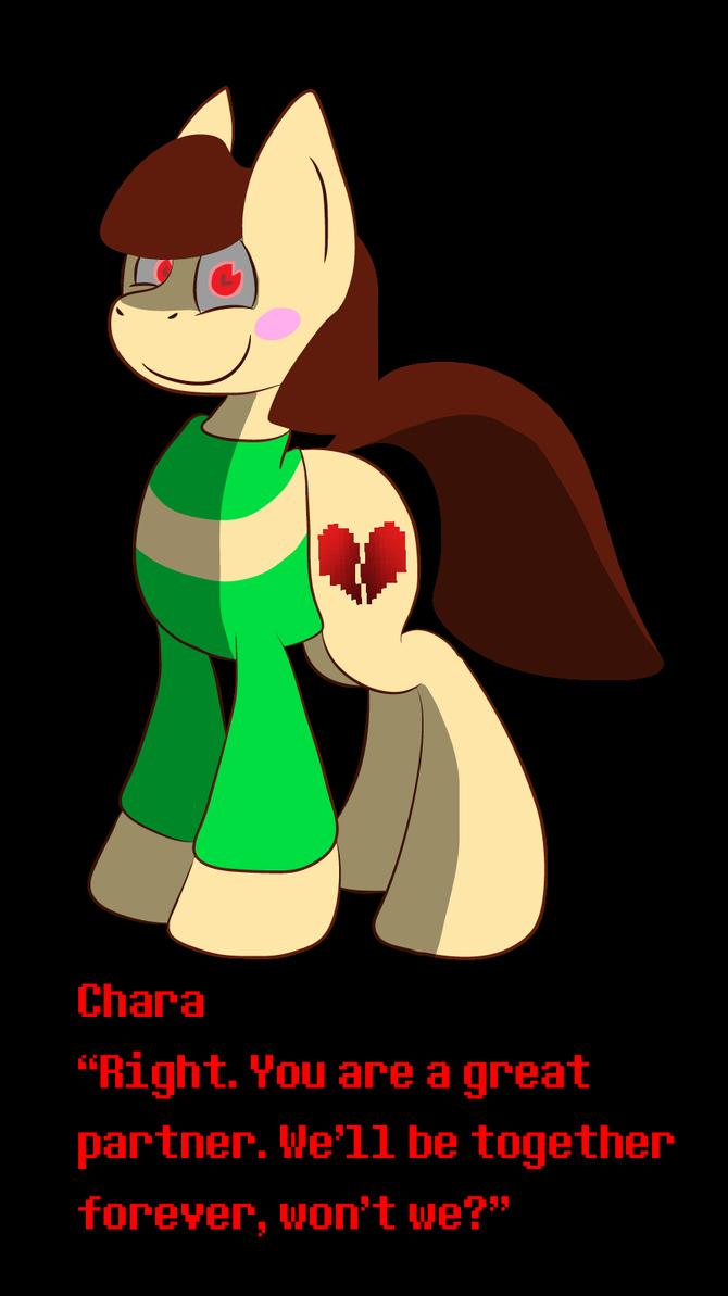 Chara Pony by Flarescent