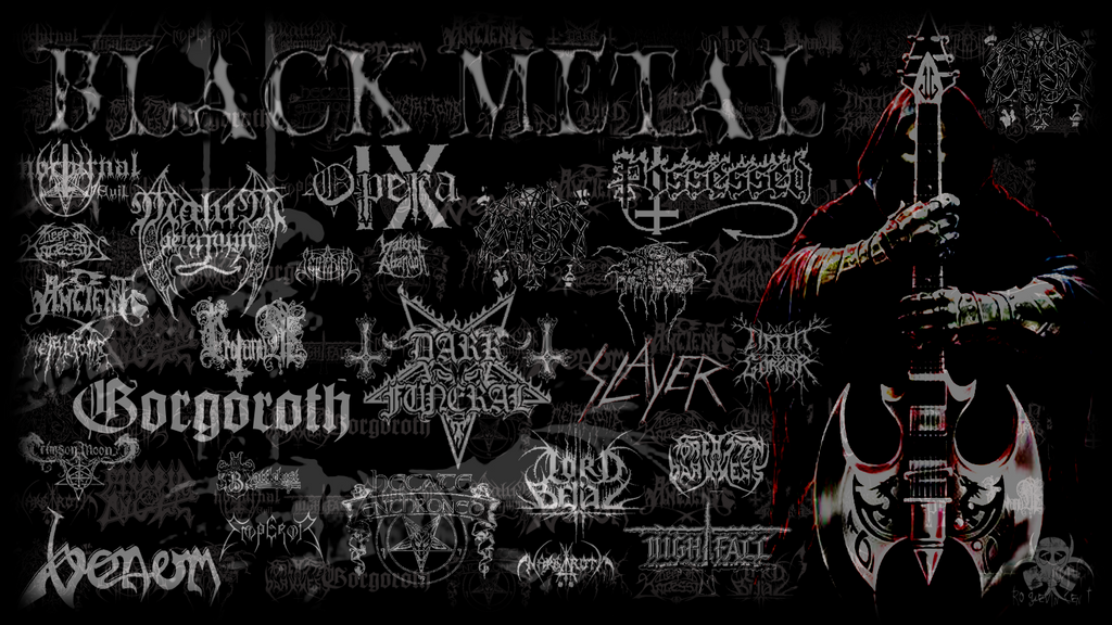 Black metal wallpaper by roguevincent on deviantart - Black metal wallpaper ...