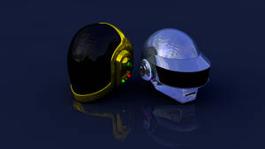 DaftPunk Helmets by Unconid