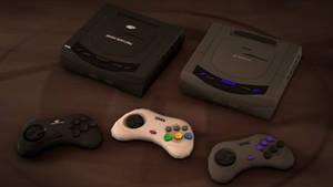Sega Saturn for SFM/Gmod