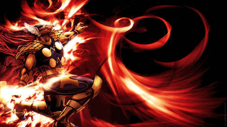 Beta Ray Bill 1920 x 1080 px wallpaper by guillhermes