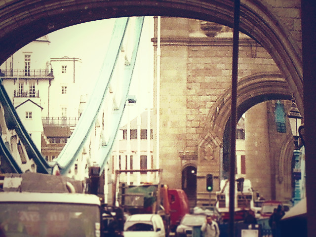LONDON Tower Bridge by OwlsomeArts