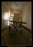 Hospital Gurney by Hoursofdarkness
