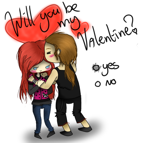 Schön Will You Be My... VALENTINE? By SilverFlameWolf ...