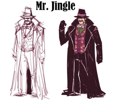 Shiv and Shroud - Mr Jingle (concept)