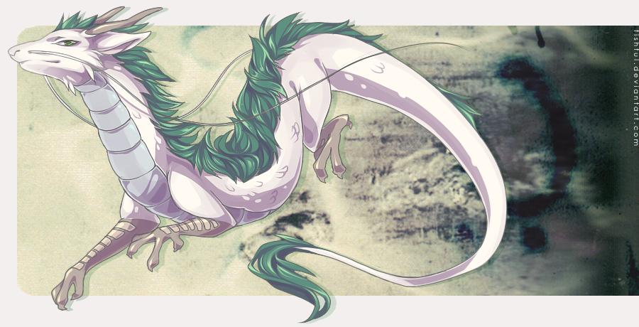 Выкройка дракона хаку
