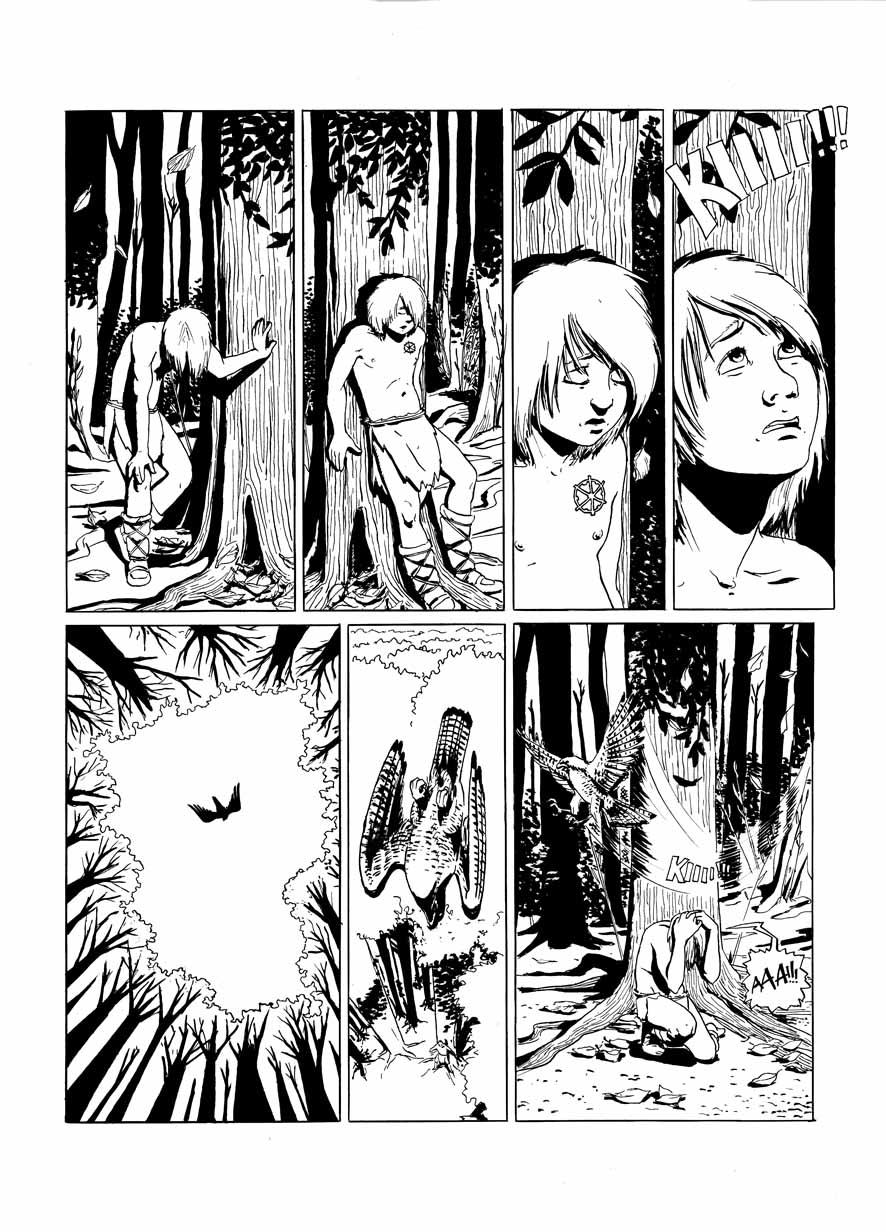 The Falconer pg 05 by YanchoAdams
