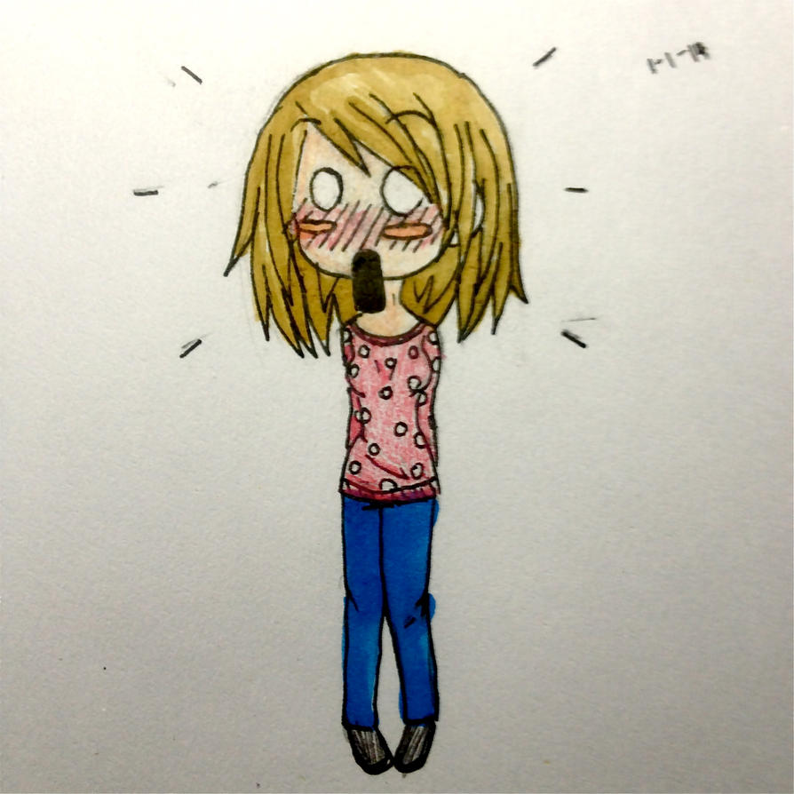 Surprised chibi girl C: by TheSmicket on DeviantArt
