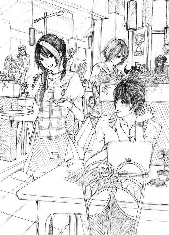 CLAC Suasana Cafe By Syndicth On DeviantArt