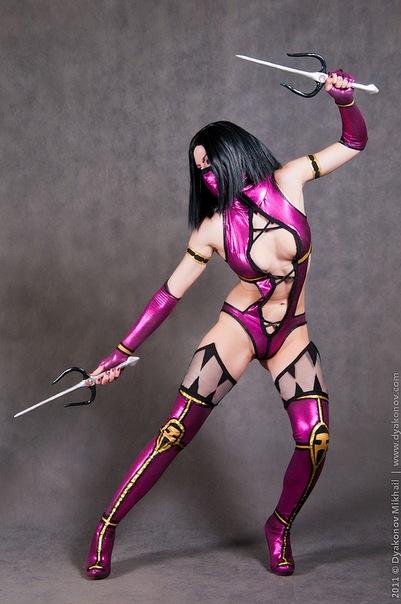 Mileena cosplay MK9 by AsherWarr