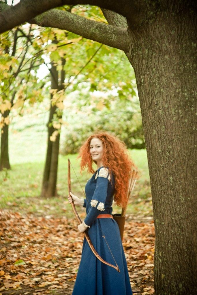 Brave, Merida cosplay by AsherWarr