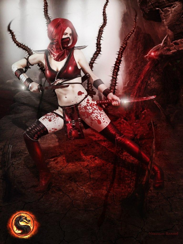 Cosplay Scarlet Mortal Kombat 9 by AsherWarr