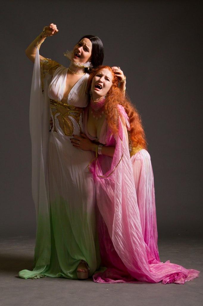 Aleera and Verona cosplay from Van Helsing by AsherWarr
