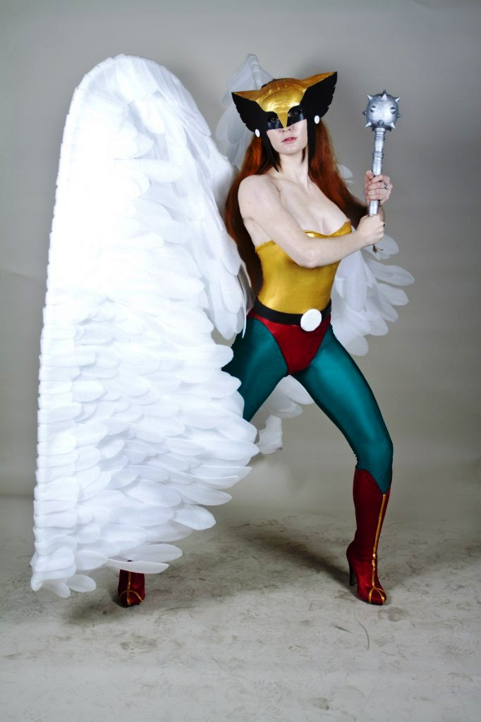 Cosplay Hawk Girl Justice League by AsherWarr on DeviantArt