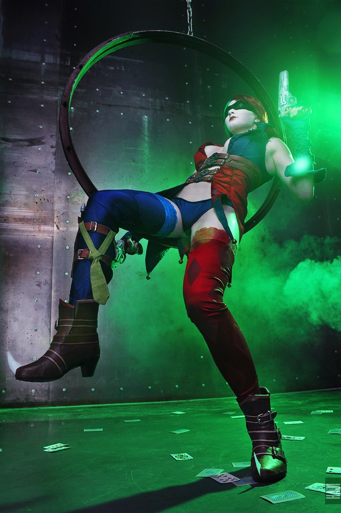 Injustice: Gods Among Us, Cosplay Harley Quinn by