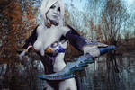 Cosplay Lineage 2: Dark Elf