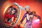 Tira x Ivy cosplay - Soyl Calibyr V