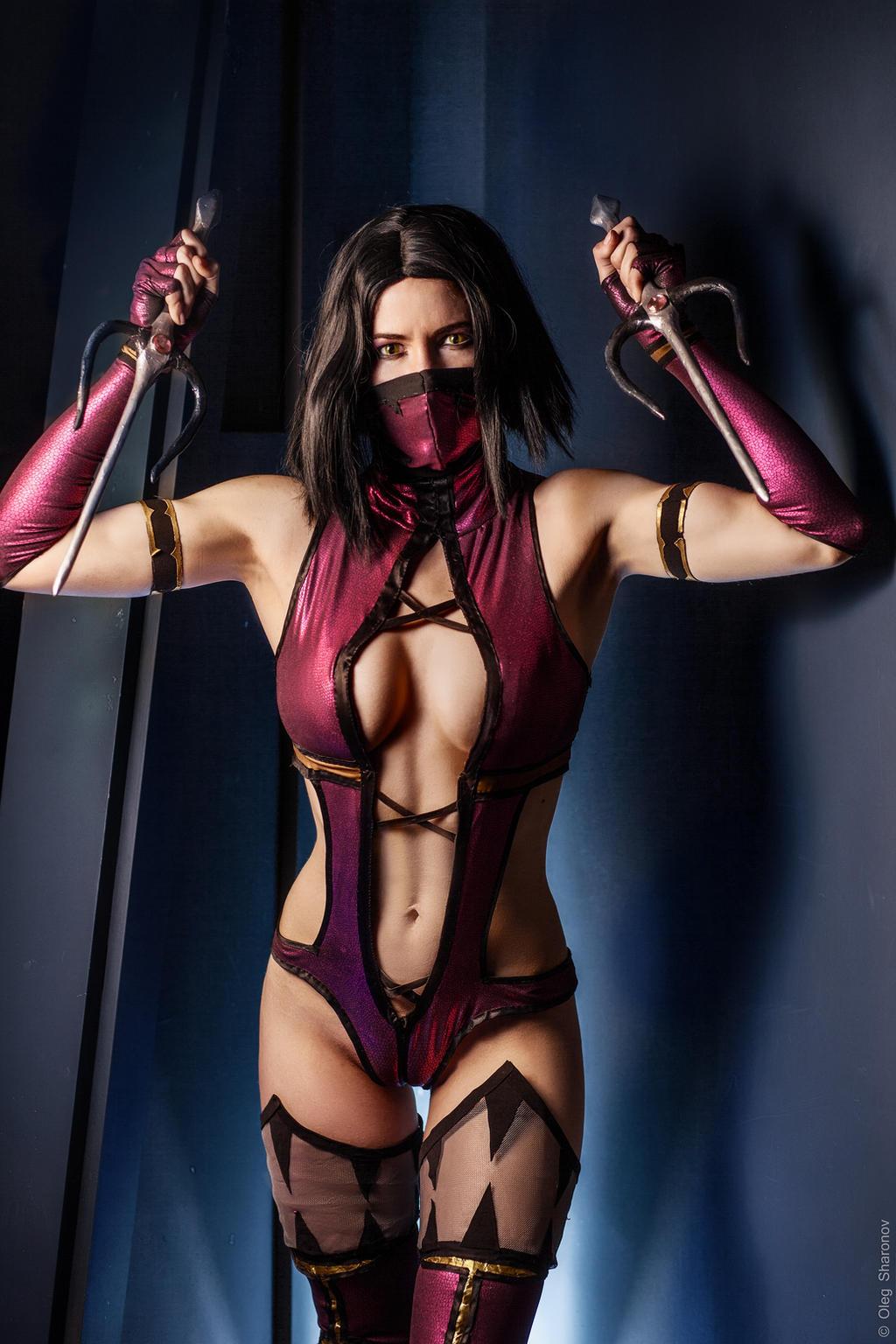 Mortal kombat kitana cosplay dildo fuck 3