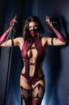 Mileena Mortal Kombat 9 cosplay