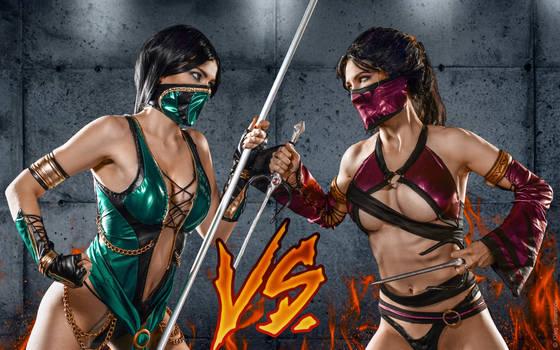 Mileena alternate costumes Mortal Kombat 9