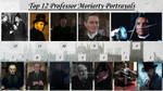Top 12 Professor Moriarty Portrayals