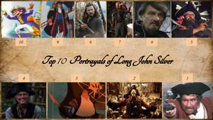 Top 10 Portrayals of Long John Silver by JJHatter